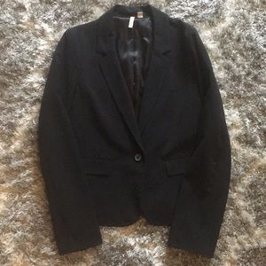 EUC Black One Button Frenchi Blazer Size Large